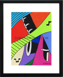 Pop Music Clarinet Print