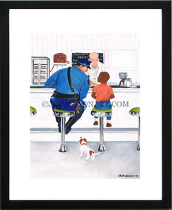 Rockwell Revised (12x16 Print)