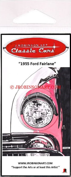 1955 Ford Fairlane Magnet