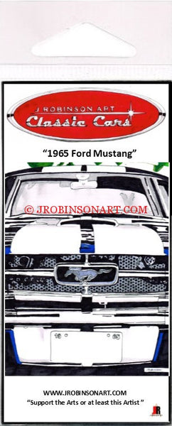 1965 Ford Mustang Magnet