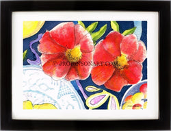 Red Flower Print (12x16)