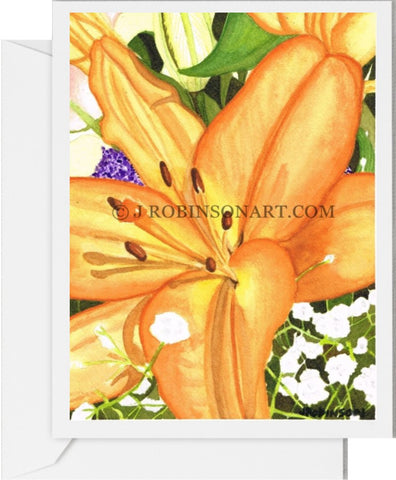 Another Flower For Anna Card