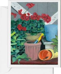 Gardening Things Card