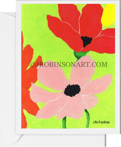 Pop Flower 1 Card