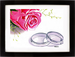 Rings and Roses Prints (12x16)