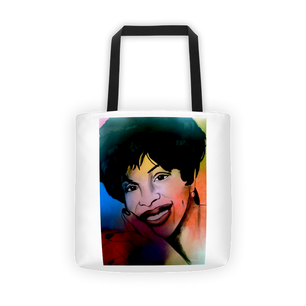 Gladys Knight Tote bag