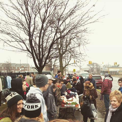 Donation Day in Detroit