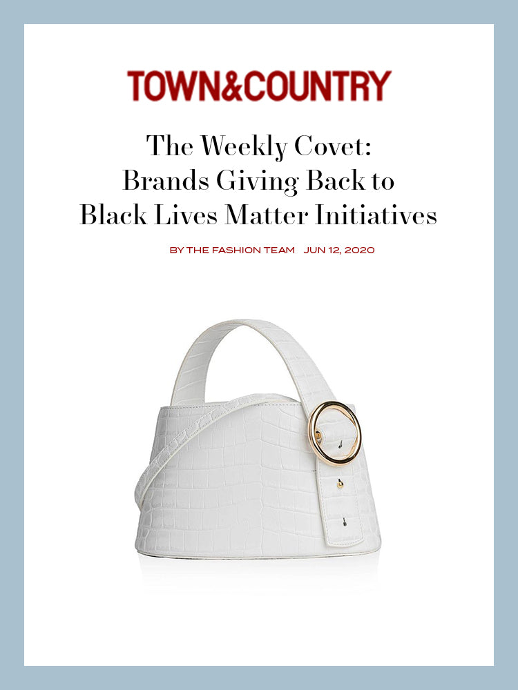 TOWN&COUNTRY, The Weekly Covet: Brands Giving Back to Black Lives Matter Initiatives