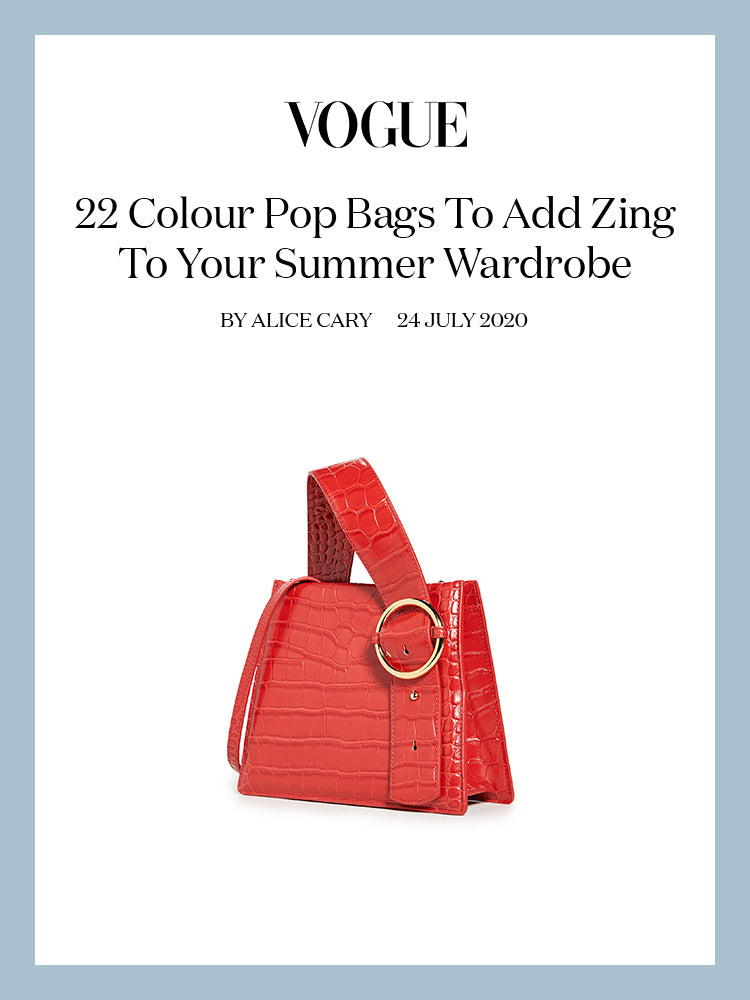 Vogue, 22 Colour Pop Bags To Add Zing To Your Summer Wardrobe