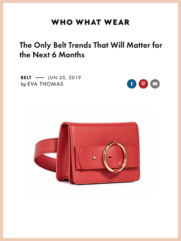 who what wear, The Only Belt Trends That Will Matter for the Next 6 Months