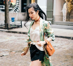 Spring Inspiration Styled by Tina Lee: Part II - Silk Robe