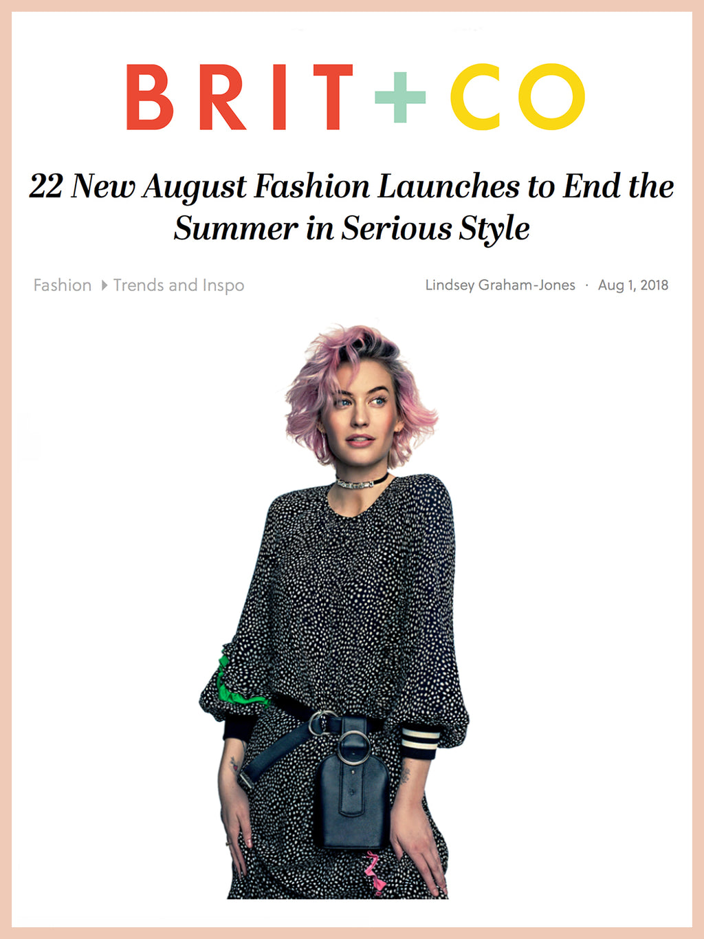 BRIT + CO, 22 New August Fashion Launches to End the Summer in Serious Style
