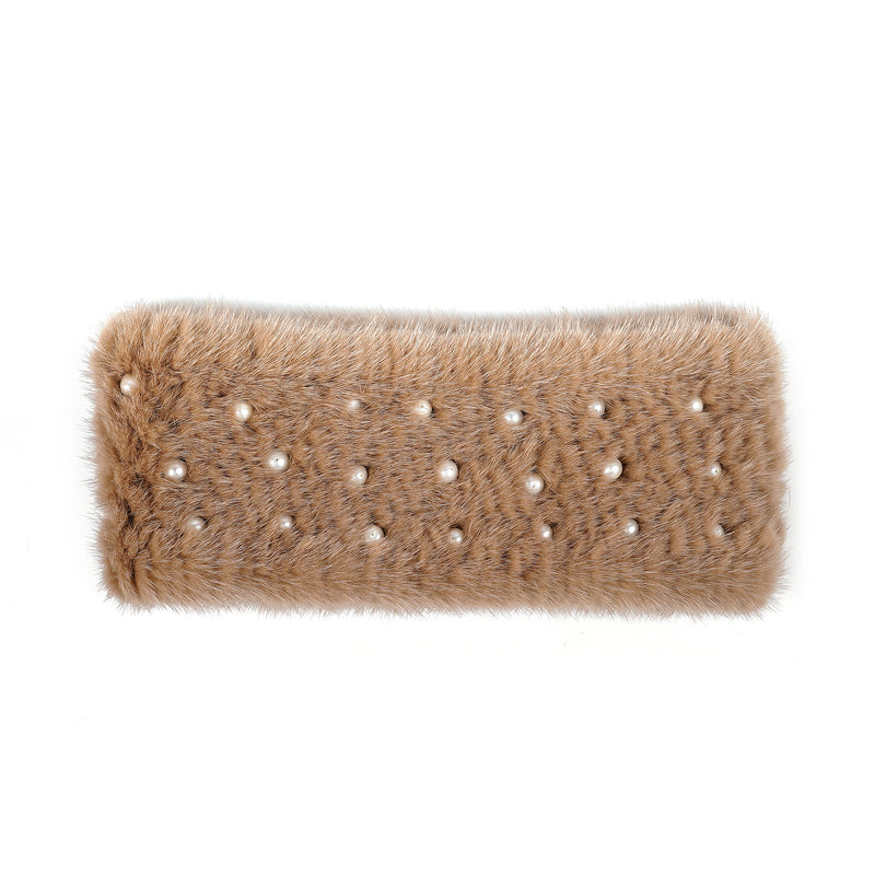 Charmed Mink Ear Warmer | Parisa Wang
