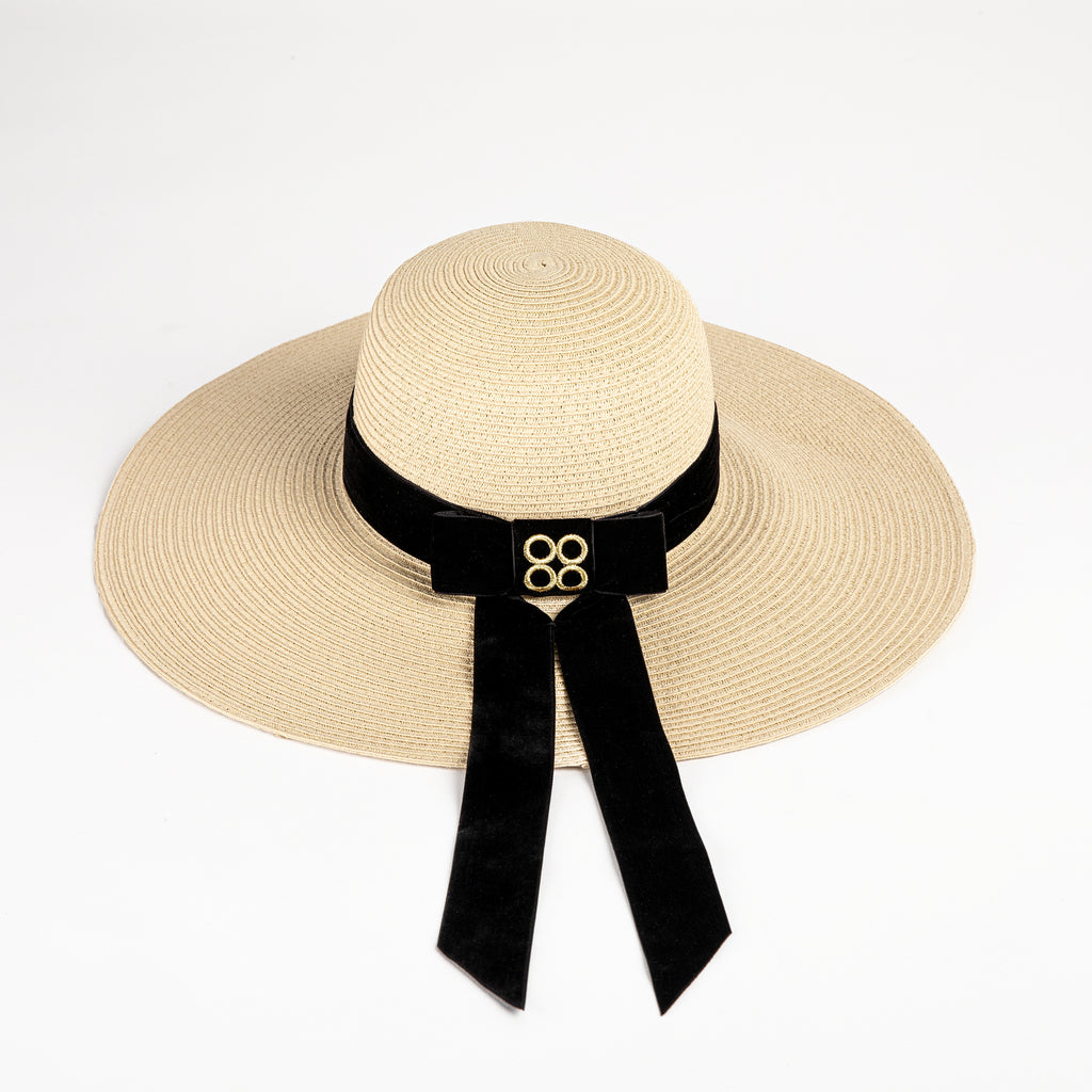 Beach Straw Hat in Cream | Parisa Wang | Featured