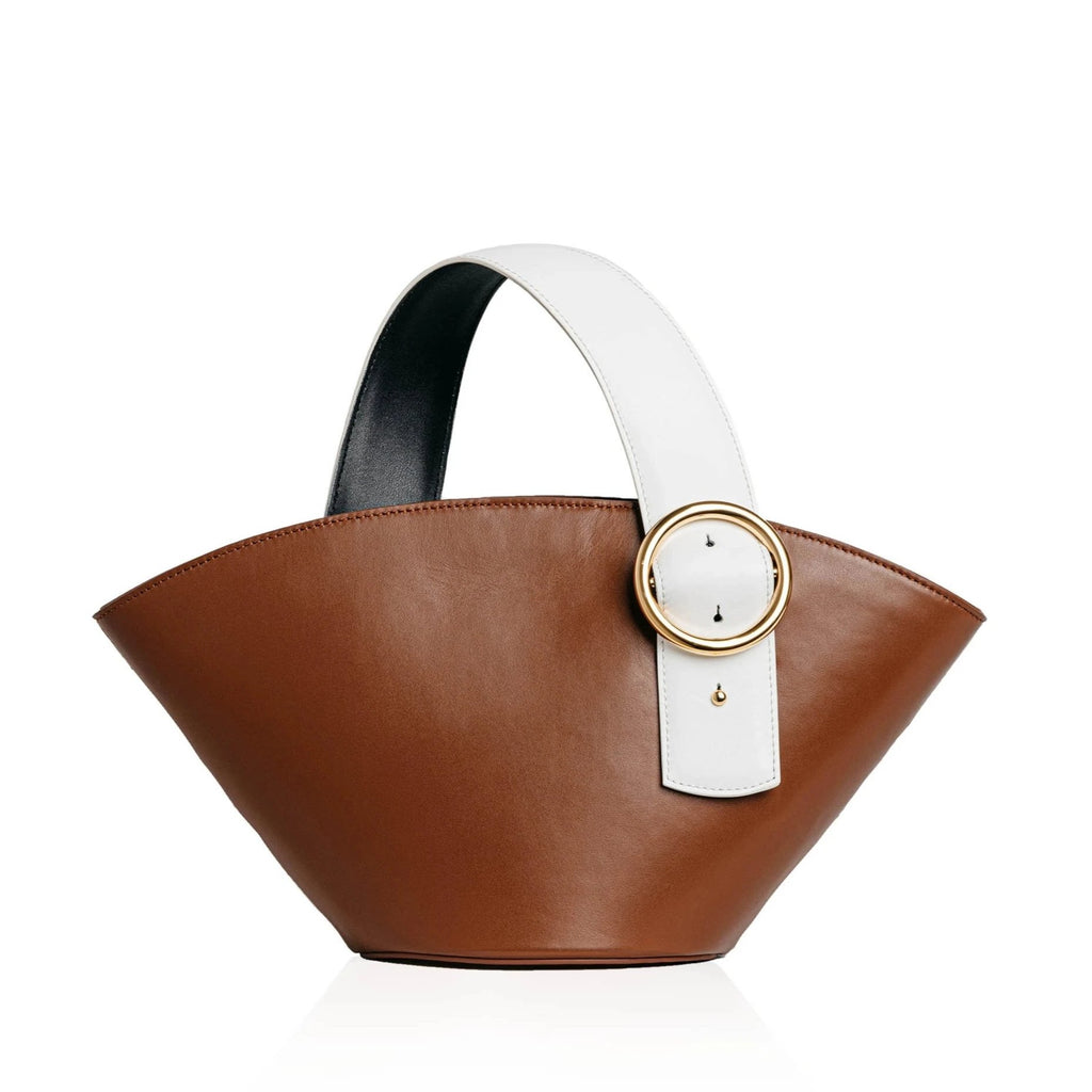 Enchanted Fan Bag in Chocolate Brown | Parisa Wang