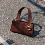 Enchanted Baguette Bag in Chocolate Brown | Parisa Wang | Featured