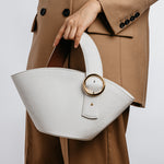 Enchanted Fan Bag in White | Parisa Wang | Featured