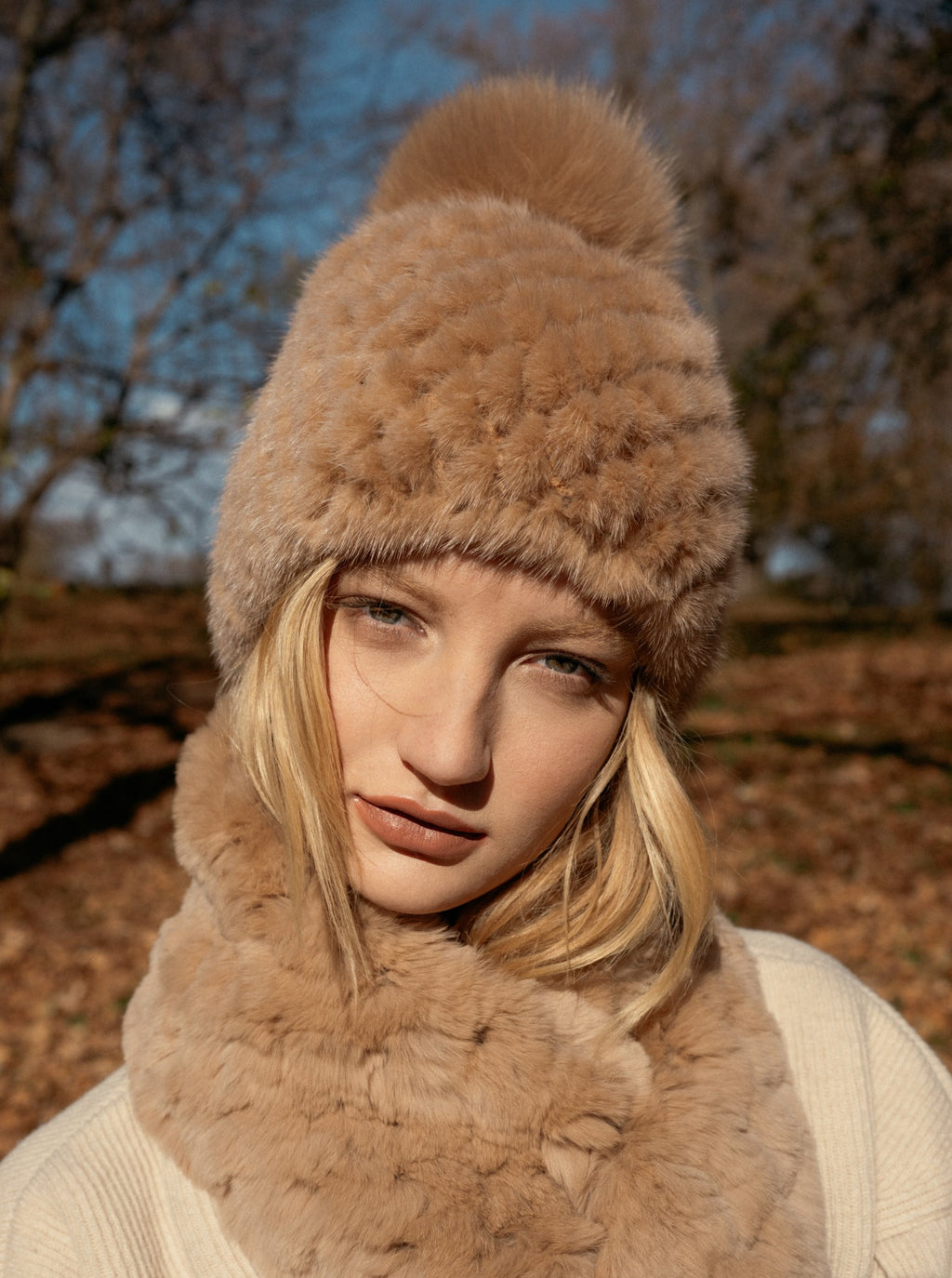 Charmed Mink Beanie | Parisa Wang | Featured