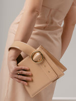 Enchanted Top Handle Bag in Peach | Parisa Wang | Featured