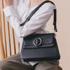 Allured Medium Shoulder Bag in Black | Parisa Wang | Featured