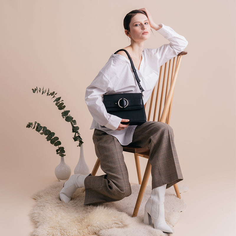 Allured Medium Shoulder Bag | Parisa Wang