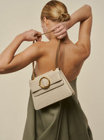 Allured Chain Bag in Bone | Parisa Wang | Featured