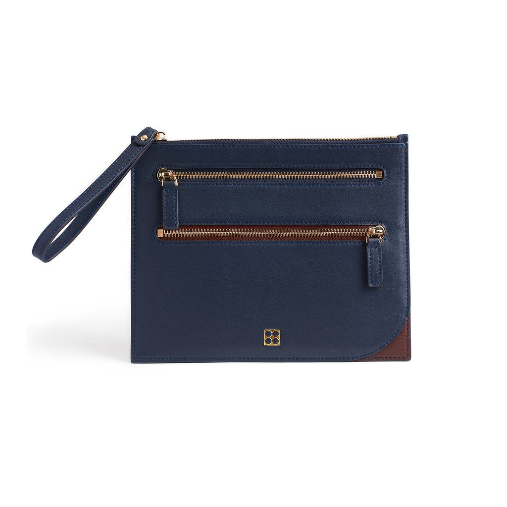 Endeavor Travel Pouch in Navy | Parisa Wang | Featured