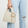 Enchanted Top Handle Bag in Bone | Parisa Wang | Featured