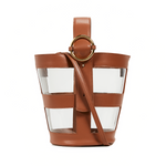Addicted PVC Bucket Bag | Parisa Wang