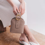 Addicted Bracelet Bag in Elephant Grey | Parisa Wang | Featured