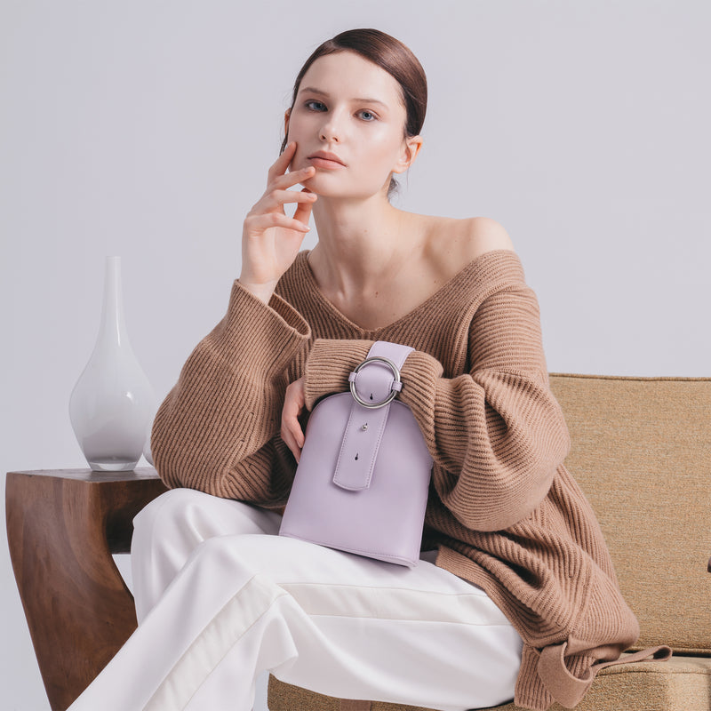 Addicted Bracelet Bag in Lilac | Parisa Wang | Featured