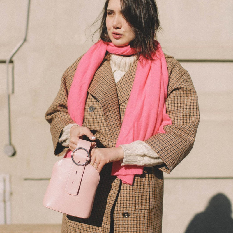 Addicted Bracelet Bag in Pink | Parisa Wang | Featured
