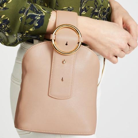 Addicted Bracelet Bag in Beige | Parisa Wang | Featured