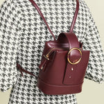 Addicted Mini Backpack in Burgundy | Parisa Wang | Featured