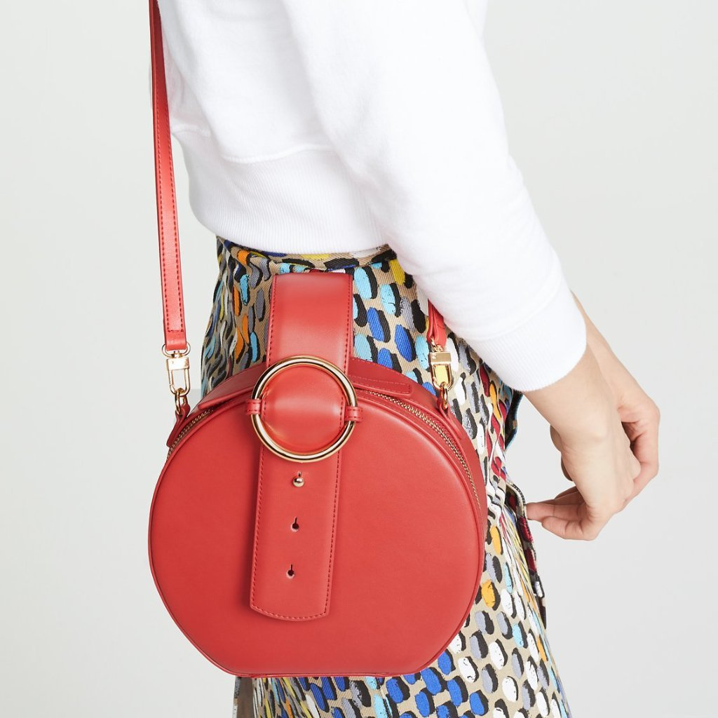 Addicted Circle Bag in Persian Red | Parisa Wang | Featured