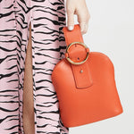 Addicted Bracelet Bag in Orange | Parisa Wang | Featured