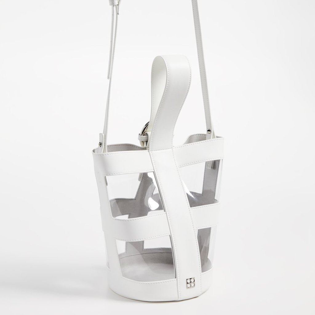 Addicted PVC Bucket Bag