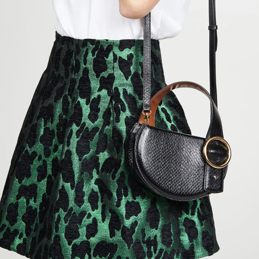 Enchanted Saddle Bag in Black | Parisa Wang | Featured