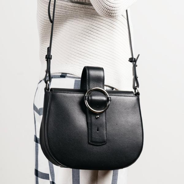 Addicted Saddle Bag in Black | Parisa Wang | Featured