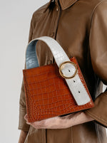 Enchanted Top Handle Bag in Camel Cream | Parisa Wang | Featured