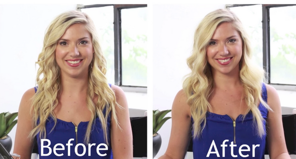 Get The Look: Smooth Beachy Waves