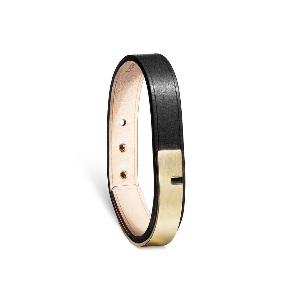 Bracelet cuir Homme, U-TURN SIMPLE or mat - Ursul Paris