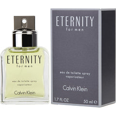 Calvin Klein Eternity Men`s Edt Spray 1.7 oz