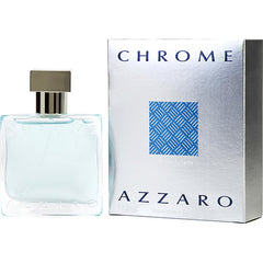 Azzaro Chrome Men`s Eau De Toilette Spray 1 oz