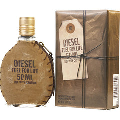 Diesel Fuel For Life Men`s Eau De Toilette Spray 1.7 oz