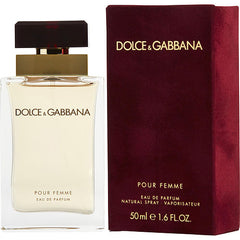 Dolce And Gabbana Pour Femme Women`s Eau De Parfum Spray 1.7 oz
