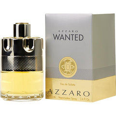 Azzaro Wanted Men`s Eau De Toilette Spray 3.4 oz