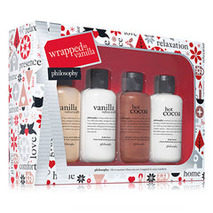 Philosophy Wrapped In Vanilla 4-pc Christmas Set