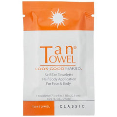 Tan Towel Plus Half Body 50pk
