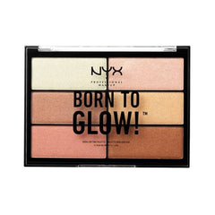 NYX Professional Born To Glow Highlighting Palette-Shade 01
